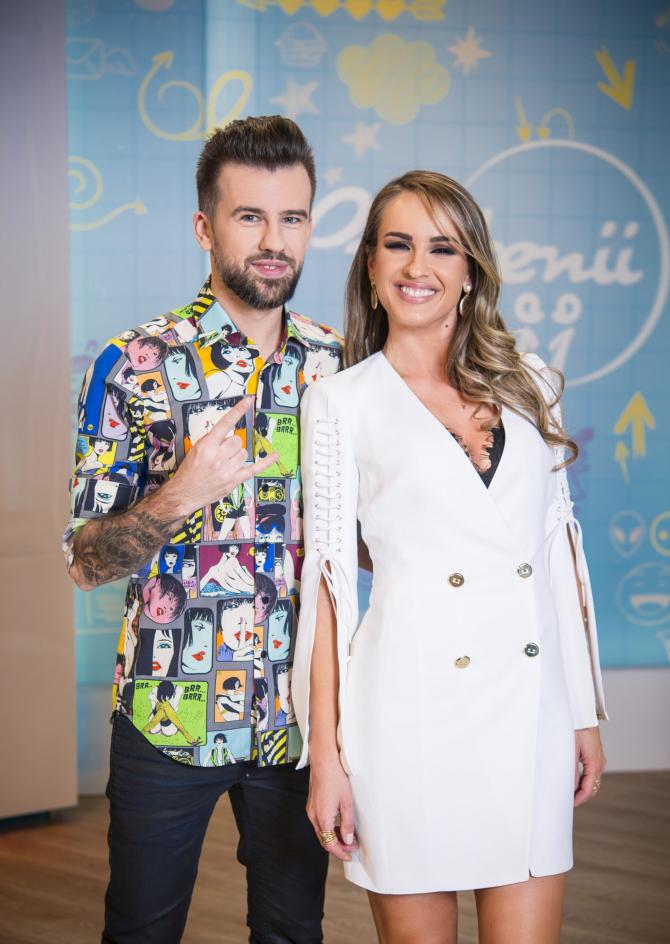 Florin Ristei și Diana Munteanu