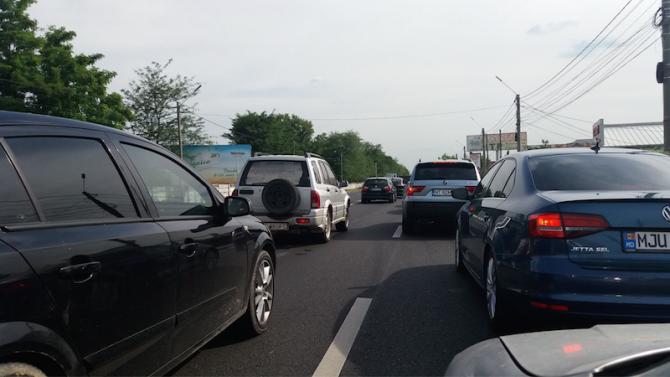 aglomeratie trafic