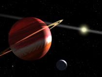 Jupiter este în continuare în conjuncție cu Pluto.