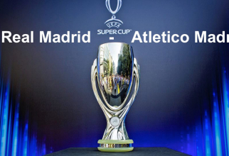 Real Madrid - Atletico Madrid. Supercupa Europei scor final