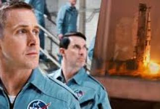 Ryan Gosling în rolul lui Neil Armstrong