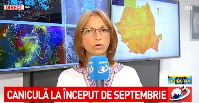 Alina Șerban, meteorolog ANM