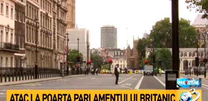 Marea Britanie, alertă. O maşină a lovit bariera de securitate din faţa Parlamentului britanic