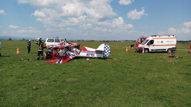 Accident aerian Suceava