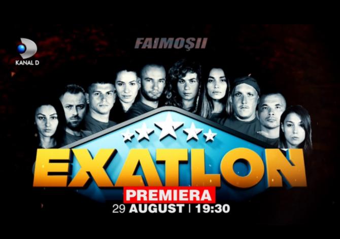 Exatlon 2018 - Faimoși