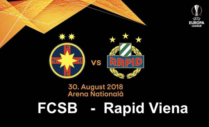 FCSB - Rapid Viena scor final live
