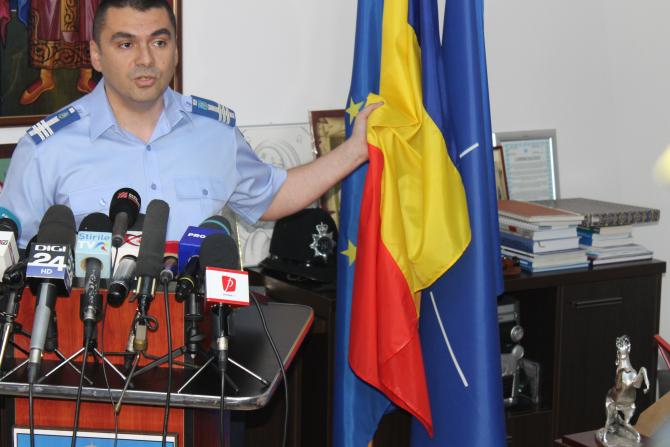 Sebastian Cucoș, inspectorul general al Jandarmeriei Române. Foto: Crișan Andreescu