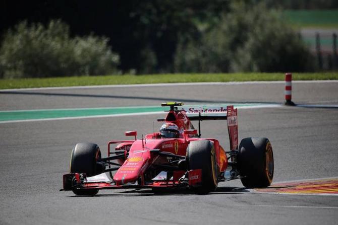 F1 - Kimi Raikkonen. foto: @IcemanRaikkonen7 / facebook