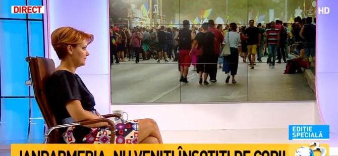 Protest diaspora. Lia Olguța Vasilescu, prima reacție: Nu aud decât o înjurătură