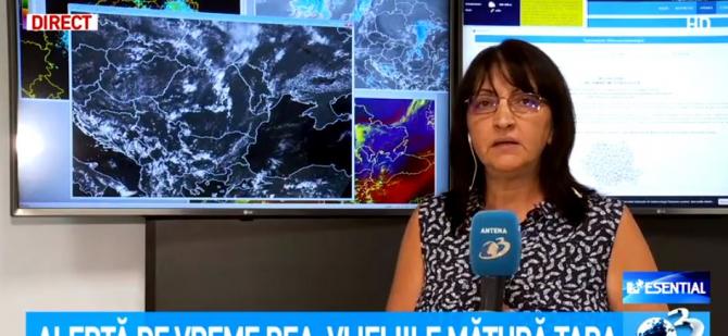 ANM, prognoza meteo. Meteorolog, informații de ultimă oră