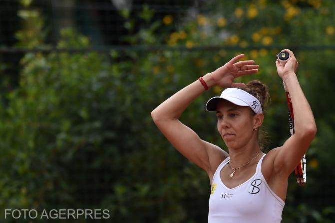 Mihaela Buzarnescu - Maria Sakkari finala