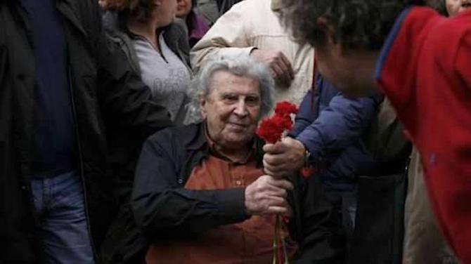 Mikis Theodorakis. foto: facebook