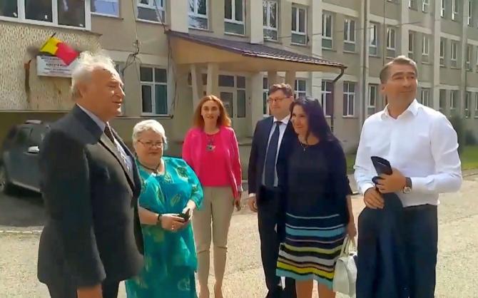Ministrul Sorina Pintea, la Spitalul din Bicaz