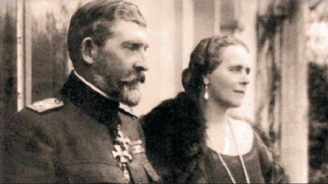 Regele Ferdinand I și Regina Maria