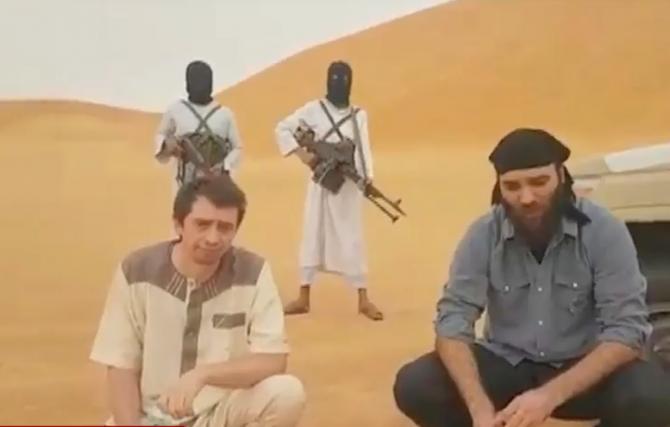 Român răpit în Libia