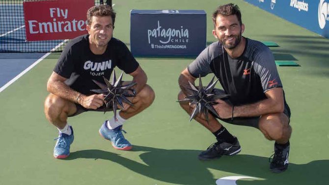 Julien Rojer și Horia Tecău. foto: #ATP