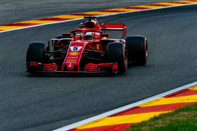 Sebastain Vettel. foto: Scuderia Ferrari @ScuderiaFerrari