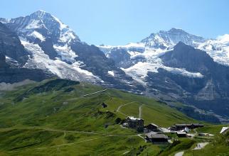 Elveția: Zăpadă mai puțină în Alpi