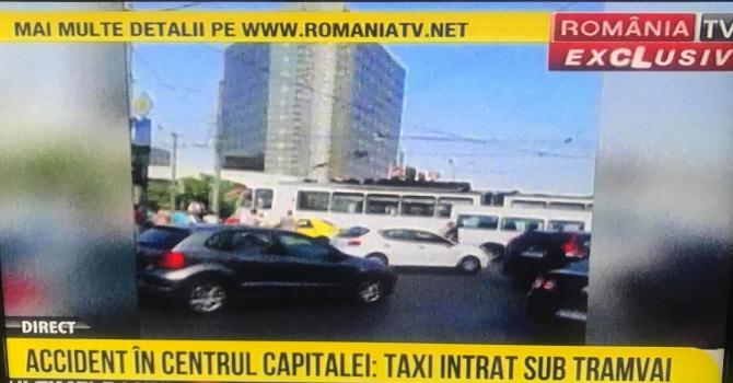 Accident în Capitală