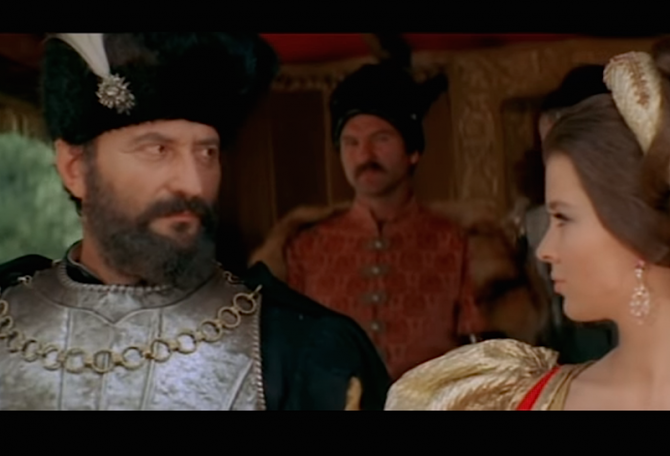 Mihai Viteazul (Amza Pellea), film. foto: captura video