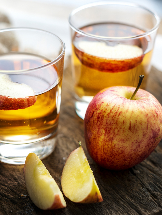 retete de slabire cu otet de mere)