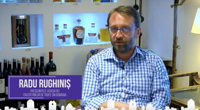 Radu Rughiniș, președintele Asociației Căutătorilor de Trufe din România