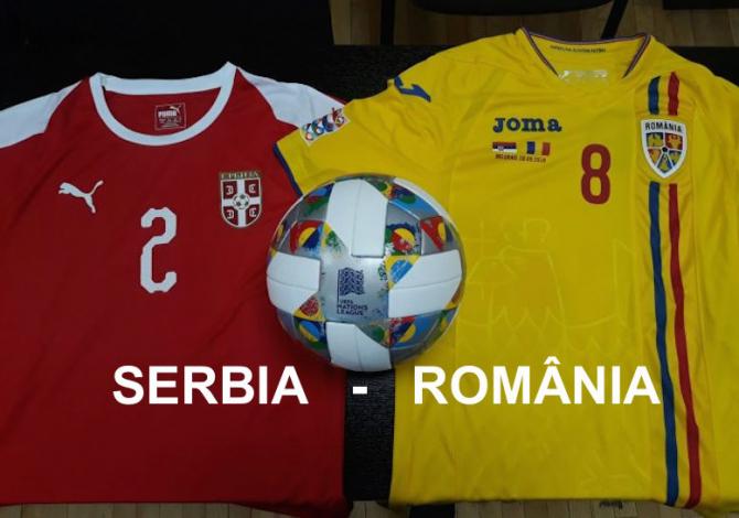 Serbia - România , rezultat final. foto: frf.ro