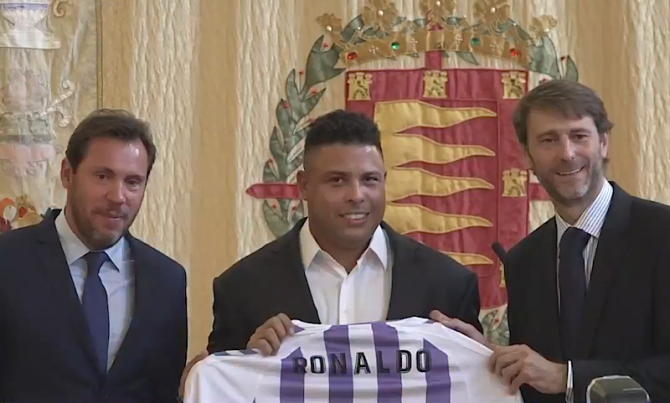 Ronaldo la Real Valladolid
