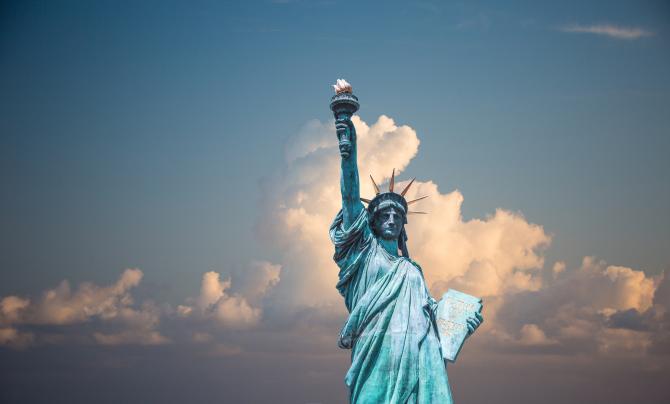 Statuia Libertății, Statele Unite