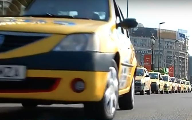 Taxi - imagine ilustrativă