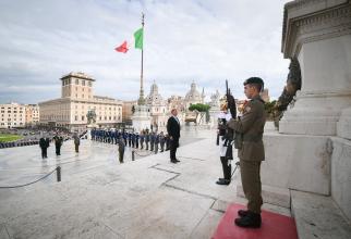 Klaus Iohannis, vizită oficială în Italia