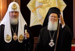 Kiril, Patriarhul Bisericii Ortodoxe Ruse și Bartolomeu, Patriarhul Constantinopolului