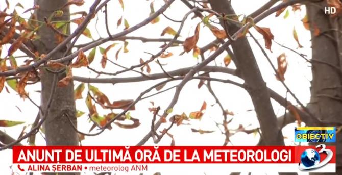 ANM, prognoza meteo weekend. Meteorolog, informații complete