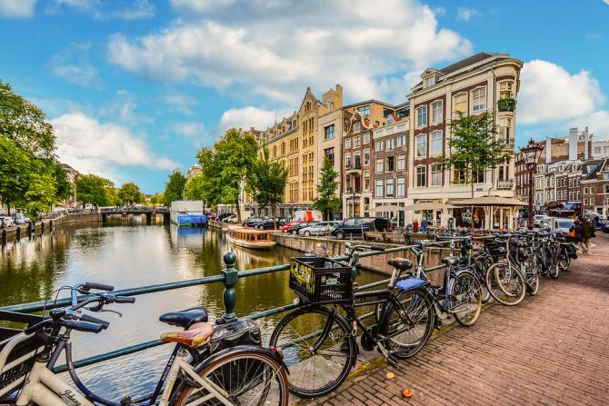 Olanda-Amsterdam-biciclete