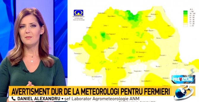 Secetă în România. Șef laborator Agrometeorologie ANM, avertisment