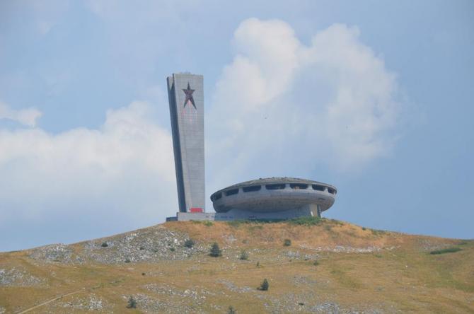Turism în Bulgaria. Buzludja, un 'OZN arhitectural comunist'