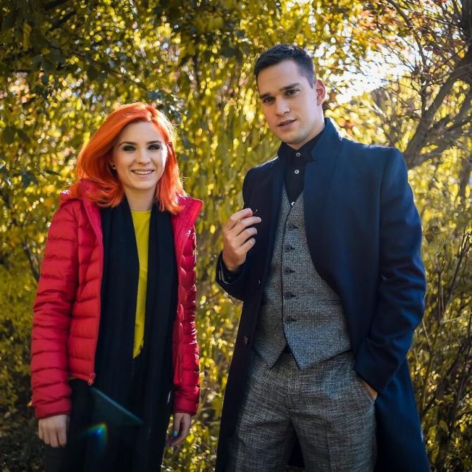 Cristina Ciobănașu și Vlad Gherman