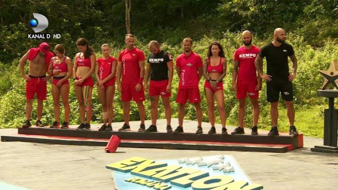 Exatlon România, echipa Faimoșilor