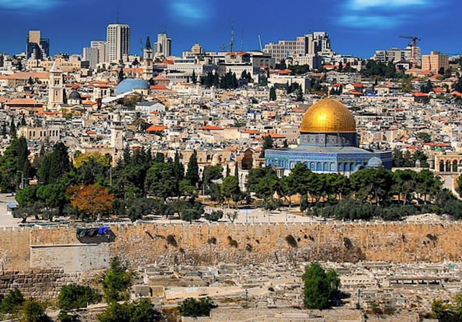 Ierusalim, vedere generală