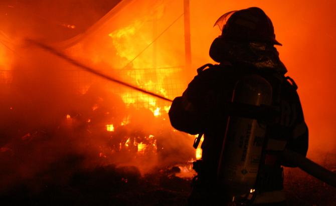 Incendiu - imagine ilustrativă