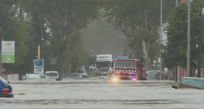 Inundaţii Franța: Stare de catastrofă naturală