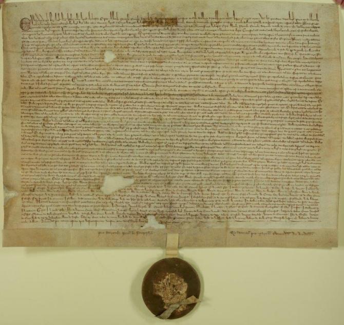 Magna Carta, furată dintr-o catedrală din Anglia