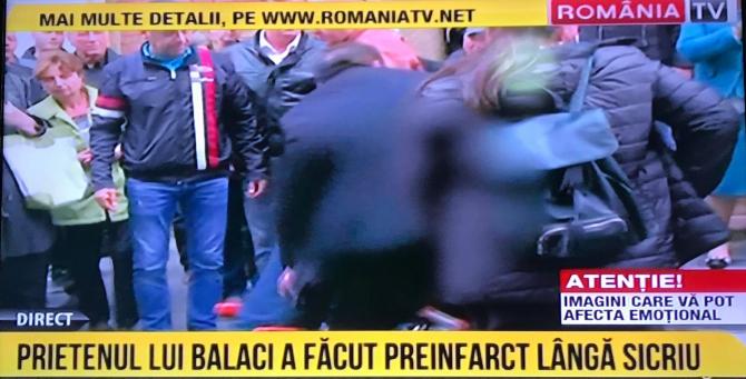 Aurel Beldeanu, preinfarct lângă sicriul lui Ilie Balaci