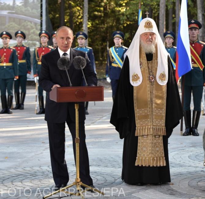 Vladimir Putin și Patriarhul Kiril al Bisericii Ortodoxe Ruse, pe punctul de a pierde influența asupra unei părți a ortodoxiei