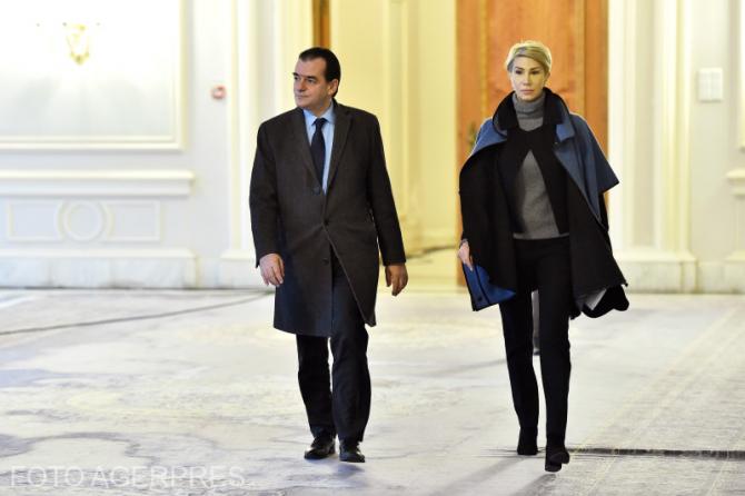 Raluca Turcan și Ludovic Orban