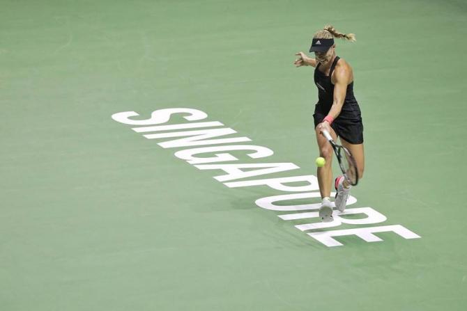 Sloane Stephen-Kiki Bertens, rezultat final Singapore. foto: @WTAFinalsSG