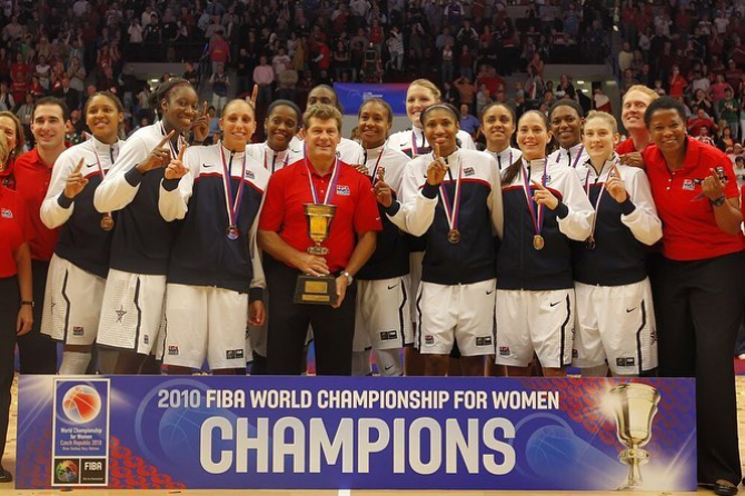 SUA, record de invincibilitate la baschet feminin. foto: @FIBA