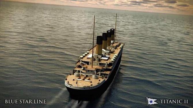Titanic II - replica celebrei nave de croazieră