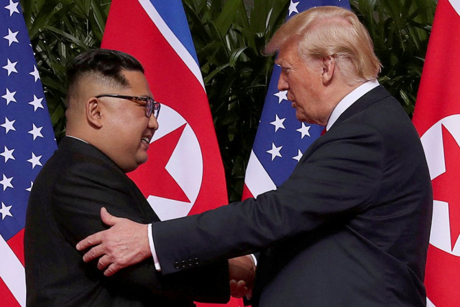 Donald Trump - Kim Jong Un