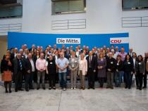 Succesor Merkel. Cei trei candidaţi, pentru prima dată împreună pe...